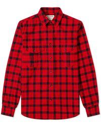 Filson Alaskan Guide Shirt - Red