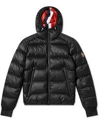 3 MONCLER GRENOBLE Hintertux Hooded Down Ski Jacket - Black
