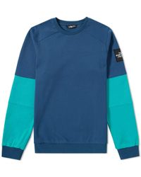 The North Face - Fine 2 Crew Sweat - Lyst
