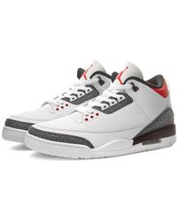 Nike Nike Air Jordan 3 Retro Se Denim - White
