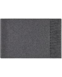 Norse Projects Lambswool Scarf - Gray