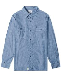 Orslow Work Shirt - Blue