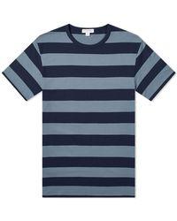 Sunspel Classic Crew T-shirt - Blue