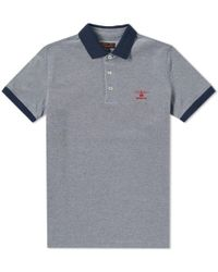 Barbour - Peak Mix Polo - Lyst