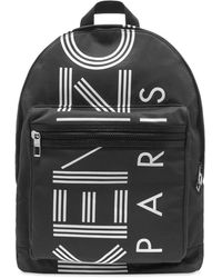 KENZO Mini Logo Backpack - Black