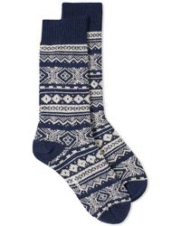 Barbour - Onso Fair Isle Sock - Lyst