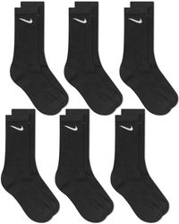 Nike - Cotton Cushion Crew Sock - 6 Pack - Lyst