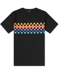 Paul Smith - Checkerboard Print Tee - Lyst