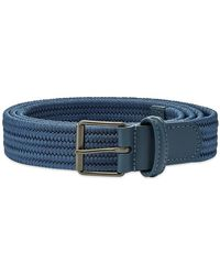 Andersons - Anderson's Slim Woven Textile Belt - Lyst