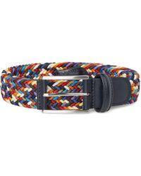 Andersons - Anderson Belts Woven Multi Belt B0667-af2949-ne41 - Lyst