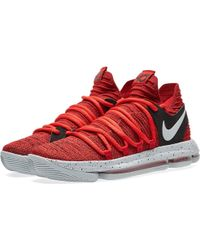 Nike Zoom Kd10 - Red