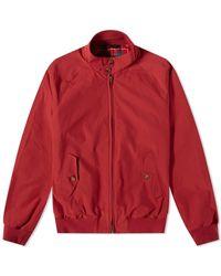 Baracuta G9 Original Harrington Jacket - Red