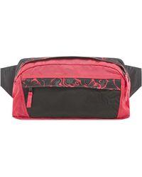 The North Face Marbled Logo Belt Bag - Pink