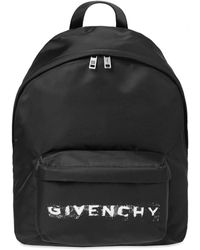 Givenchy Faded Logo Backpack - Black