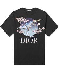 Dior Homme Sorayama T-rex Tee - Black
