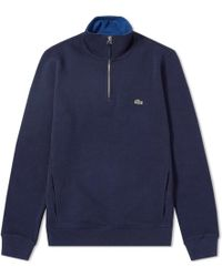 Lacoste - Quarter Zip Track Top - Lyst