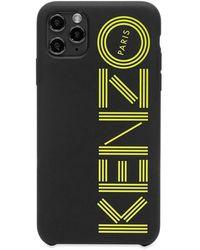 KENZO Logo Iphone 11 Pro Max Case - Black