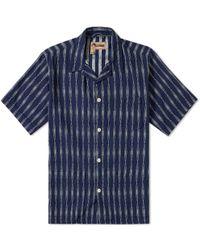 Nigel Cabourn   X Lybro Short Sleeve Frankie's Shirt   Lyst