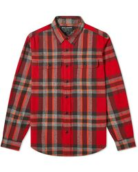Filson Checked Scout Shirt - Red