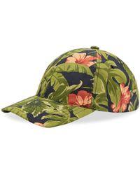 A.P.C. - Floral Cap - Lyst