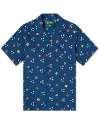 Gitman Brothers Vintage Bandhani Cloth Shirt - Blue