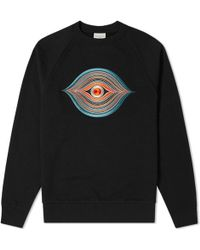 Dries Van Noten - Embroidered Eye Crew Sweat - Lyst