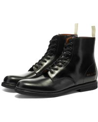 Common Projects Standard Combat Boot - Black