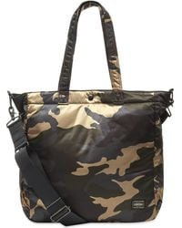 Porter Counter Shade Camo 2-way Helmet Tote - Black