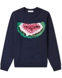 JW Anderson - Watermelon Crew Knit - Lyst