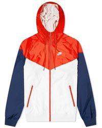 Nike Windrunner Jacket - White