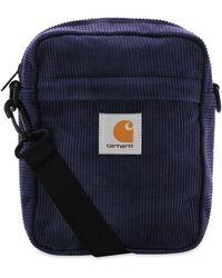 Carhartt WIP Cord Shoulder Bag - Blue