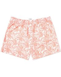 Druthers Rose Boxer Short - Red