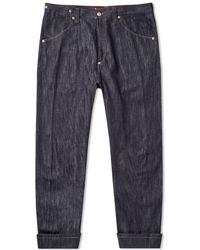 Junya Watanabe X Levi's Engineered Camo Pocket Jean - Blue