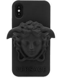 Versace Medusa Iphone X Case - Black