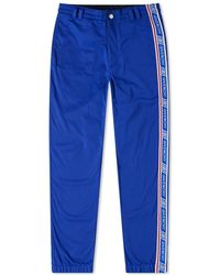 Givenchy Taped Track Trousers - Blue