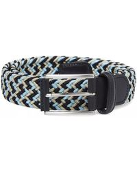 Andersons - Anderson's Woven Textile Belt - Lyst