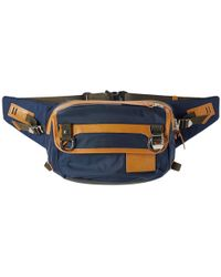 Master Piece - Potential Leather Trim Waist Pack - Lyst
