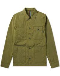 Paul Smith Nylon Wax Chore Coat - Green