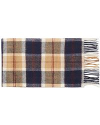 Norse Projects - X Johnstons Check Scarf - Lyst