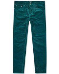 Carhartt WIP Newel Cord Trousers - Green