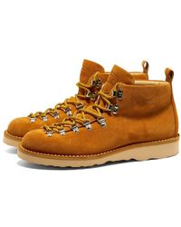 0d059afe717 M120 Natural Vibram Sole Scarponcino Boot - Brown