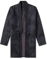 Maharishi - Camo Wool Gi Coat Kimono - Lyst