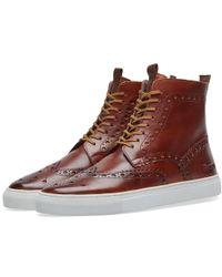 Grenson Sneaker 4 - Brown