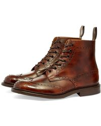 Tricker's Tricker's Stow Brogue Boot - Brown
