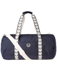 Fred Perry Authentic - Fred Perry Track Barrel Bag - Lyst