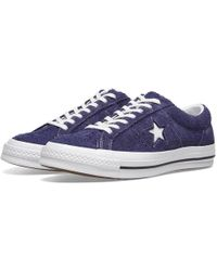 ab00c35dceba Lyst - Converse One Star Pro Oiled Suede Low Top Men s Skateboarding ...