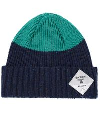 Barbour - Birkhouse Knitted Beanie - Lyst