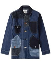 FDMTL - Patchwork Coverall Rinse Jacket - Lyst