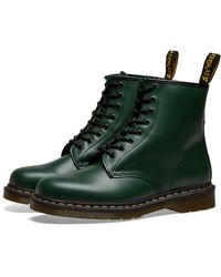 Dr. Martens - 1460 Smooth Leather Green Boots - Lyst