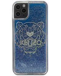 KENZO Logo Iphone 11 Pro Max Case - Blue